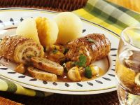 Pork and Mushroom Roulades recipe