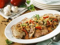 Pork and Mushroom Stew recipe