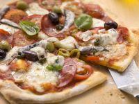 Pork and Oily Fish Pizzas recipe