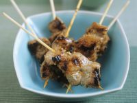 Pork and Peanut Skewers recipe