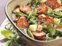 Pork and Sliced Bean Broth recipe