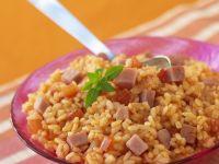 Pork and Tomato Rice recipe