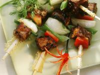 Pork and Vegetable Kabobs recipe
