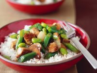 Pork and Vegetable Stir-Fry recipe