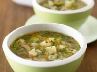 Pork and Veggie Broth recipe