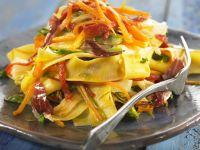 Pork and Veggie Pasta recipe