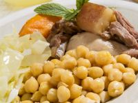 Pork, Chicken and Chickpea Stew recipe