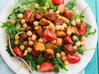 Pork, Chickpea and Arugula Salad recipe