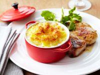 Pork Chop with Potato Gratin recipe