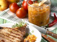 Pork Chops with Fruity Chutney recipe