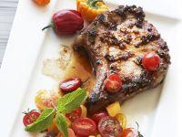 Pork Chops with Tomato Salsa recipe