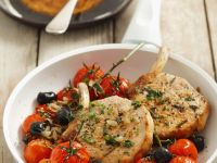 Pork Chops with Tomatoes recipe