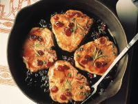 Pork Cutlets with Cranberry Sauce recipe