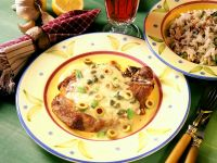 Pork Cutlets with Mustard Sauce recipe