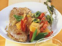 Pork Cutlets with Peppers recipe