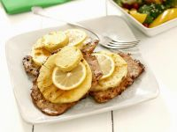 Pork Cutlets with Pineapple, Lemon and Curry Butter recipe
