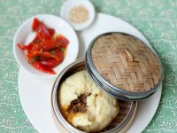 Steamed Buns with Filling recipe