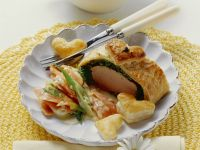 Pork Fillet in Herb Pastry with Carrots recipe