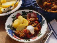 Pork Goulash with Sauerkraut recipe