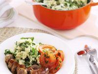 Pork Links with Mash recipe