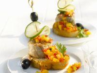 Pork Medallions with Mango Salsa recipe