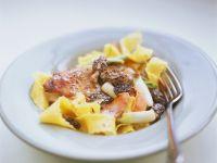 Pork Medallions with Pasta recipe