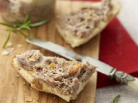 Pork Pate with Baquette recipe