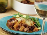 Pork Ragout with Potato Crust recipe