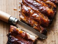 Pork Ribs with Beer Sauce recipe