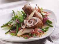 Pork Rolls with Autumn Salad recipe