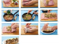 Pork Roulade with Mushroom Stuffing recipe