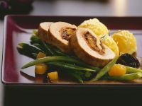 Pork Roulade with Vegetables for Christmas recipe