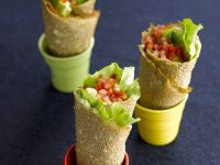Pork Salad Pancake Rolls recipe