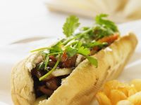 Vietnamese Pork Sandwich recipe