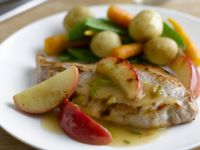 Pork Steaks with Fruit recipe