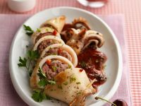 Pork-stuffed Cephalopod recipe