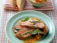 Pork Tenderloin with Apricots recipe