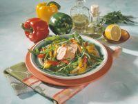 Pork Tenderloin with Arugula Salad recipe