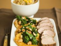Pork with Broccoli and Nuts recipe