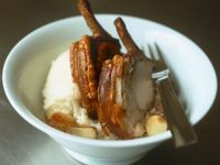 Pork with Crackling and Mash recipe