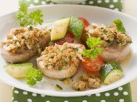 Pork with Herb-almond Crust recipe