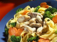 Pork with Vegetables and Noodles recipe