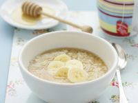 Porridge with Banana and Honey recipe