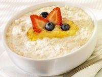 Porridge with Honey and Berries recipe