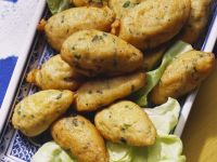 Portuguese Salt Cod Fritters