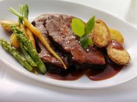 Pot Roast with Sauteed Vegetables recipe
