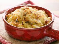 Potato and Anchovy Gratin recipe