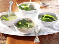 Potato and Basil Soup recipe