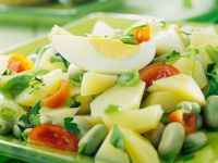 Potato and Bean Salad recipe