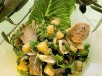 Potato and Bean Salad with Artichokes recipe